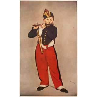 "1950s Édouard Manet, ""The Fifer Boy"" First Edition Lithograph For Sale"