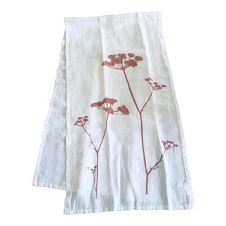 German Linen Table Runner - Queen's Lace For Sale