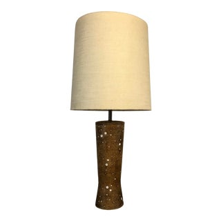 Vintage Ceramic Tall Table Lamp For Sale