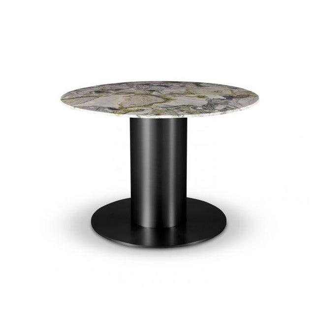 Tom Dixon Primavera Table 1100mm withTube Black Base For Sale - Image 11 of 11