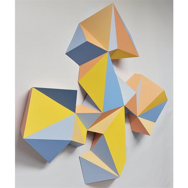 """2020s Sassoon Kosian """"Crossroads"""" Wall Sculpture For Sale - Image 5 of 9"""