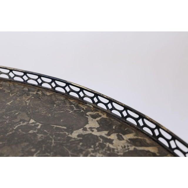 Brass Italian Tilt-Top Table For Sale - Image 7 of 13