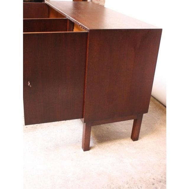 Danish Cabinet Maker Custom Oak Sideboard - Image 4 of 11