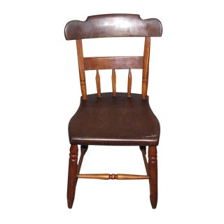 Antique Chair in Need of Repair For Sale