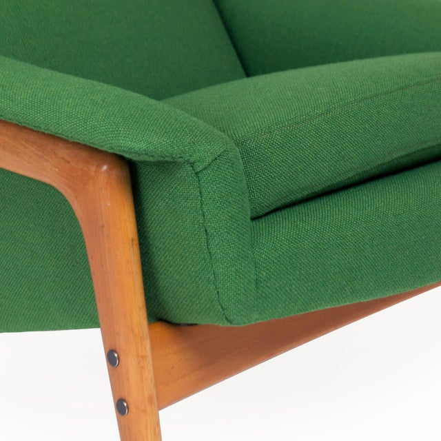 Green Dux Lounge Chair by Folke Ohlsson For Sale - Image 8 of 9