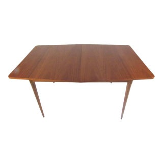 Midcentury Walnut Dining Table For Sale