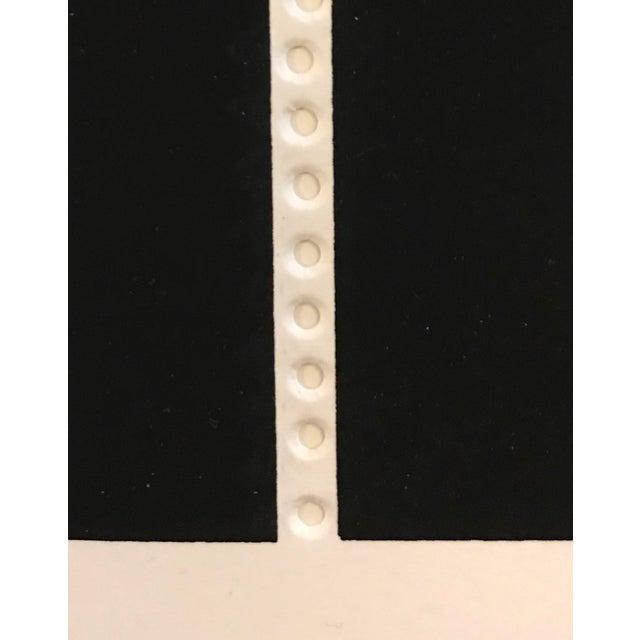 1970s 1971 Juan Martinez Composition #1 Hand Signed Silkscreen Print For Sale - Image 5 of 7