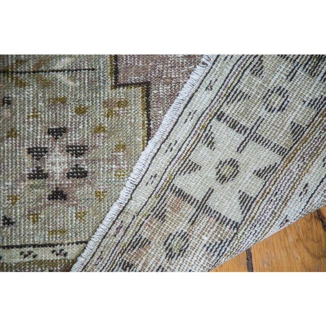 "Distressed Oushak Rug Runner - 3'5"" x 5'9"" - Image 3 of 5"