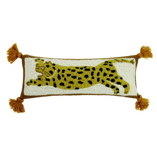 Chi Chi Hooked Wool Pillow For Sale
