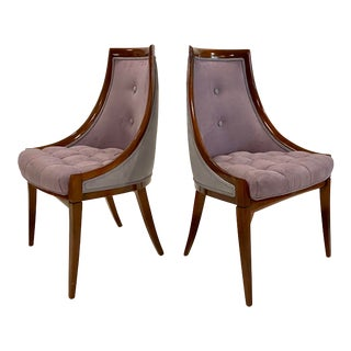 Pair of Harvey Probber Chairs For Sale