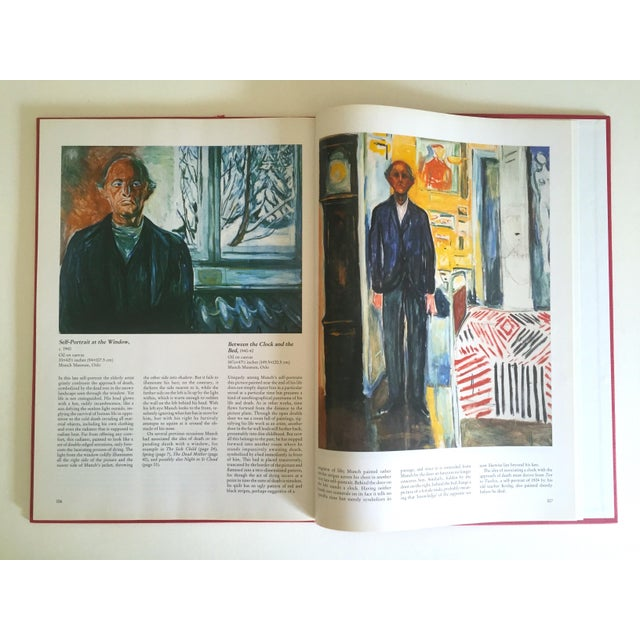 """1990s """" Munch """" First Edition Vintage 1990 Expressionist Hardcover Art Book For Sale - Image 5 of 13"""