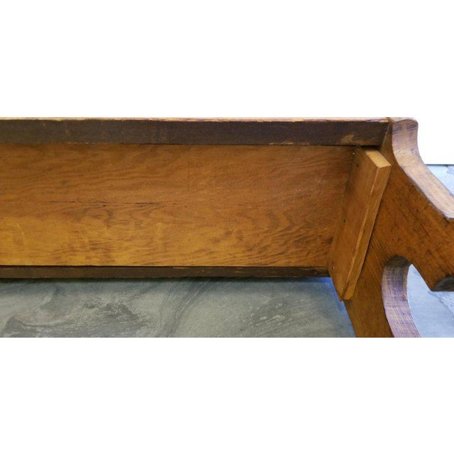 19th Century Children's Church Pew or Bench For Sale - Image 9 of 13