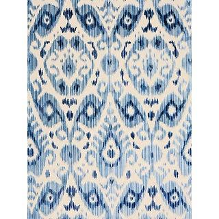 Scalamandre Tashkent Velvet, Pacific Fabric For Sale