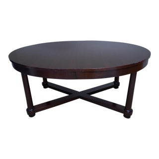 Barbara Barry for Baker Oval Dining Table For Sale