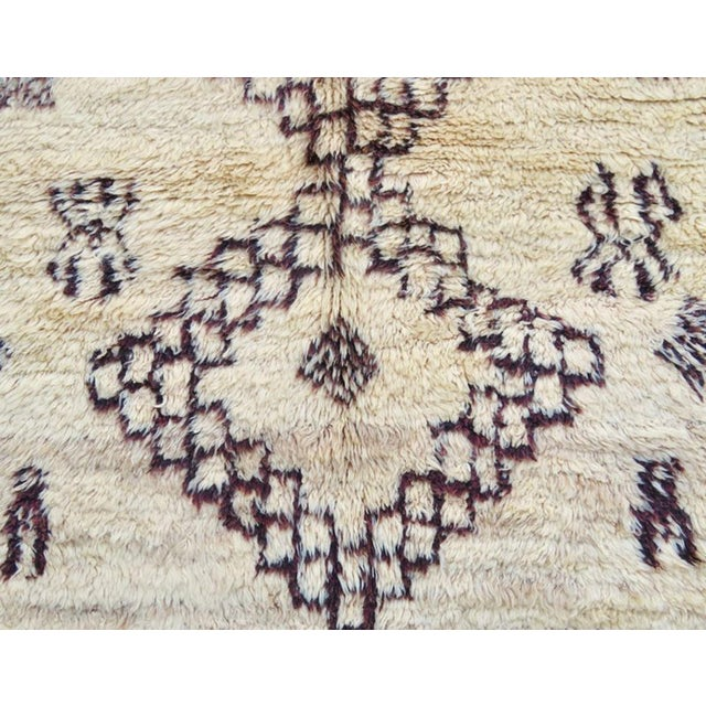 Vintage Moroccan Marmoucha Rug - 6′ × 10′2″ For Sale In Los Angeles - Image 6 of 11