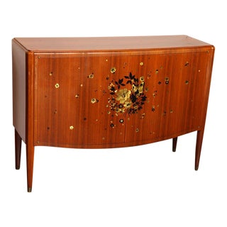 Fine Art Deco Sideboard by Jules Leleu For Sale