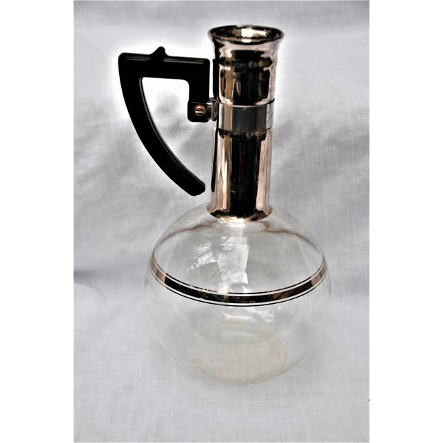 Glass Mid-Century Inland Dorothy Thorpe Style Handblown Coffee Pot For Sale - Image 7 of 9