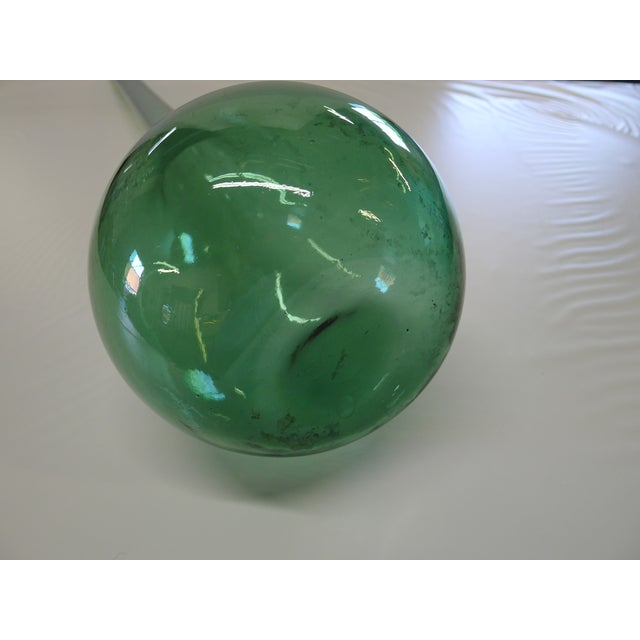 Glass Vintage Blenko Floor Vase For Sale - Image 7 of 10