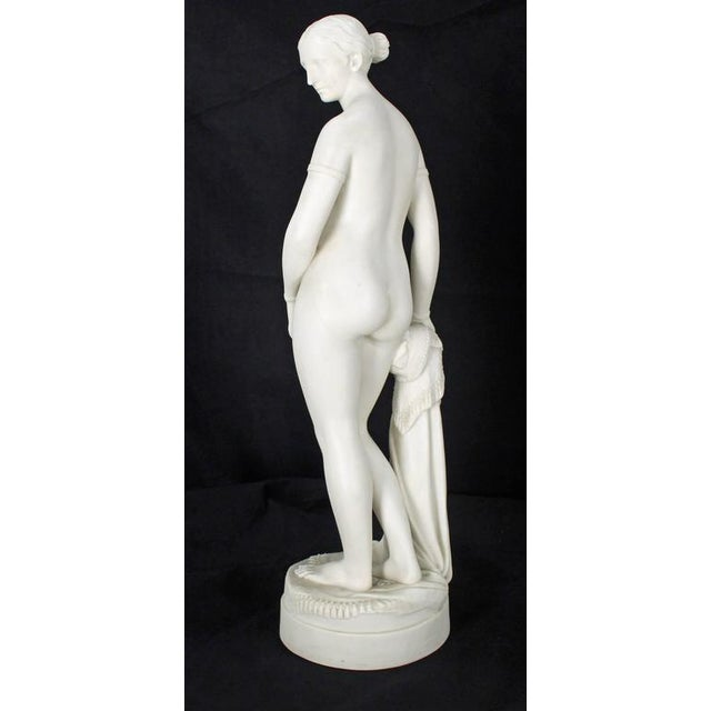 Copeland 19th Century Fine Porcelain Nude Woman Figurine Tall, Dated 1853 For Sale - Image 4 of 10