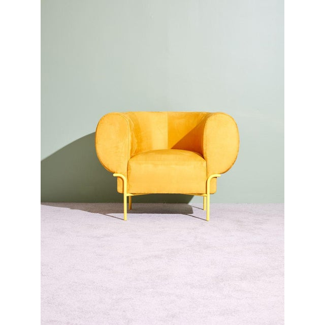 Michael Felix Madda Chair in Yellow For Sale In New York - Image 6 of 6
