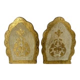 Image of Vintage Florentine Bookends- a Pair For Sale