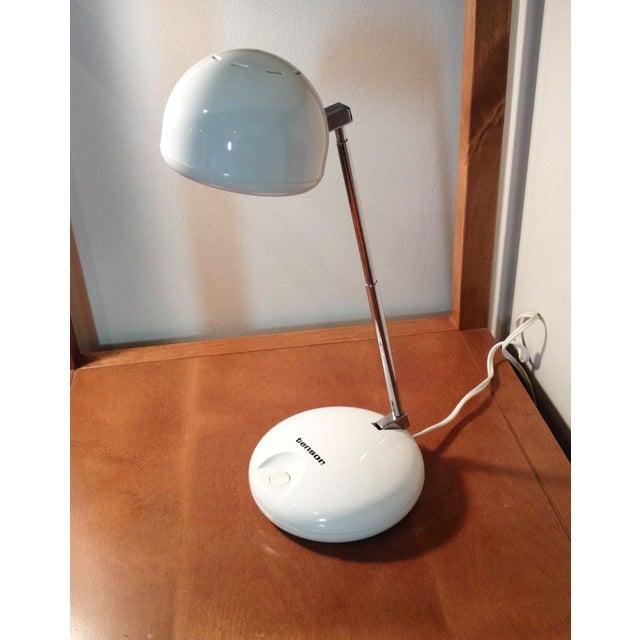 Modern Tensor Moder 650 White Eyeball Lamp For Sale - Image 3 of 5