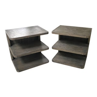 Mr. Brown Springer Side Tables - A Pair