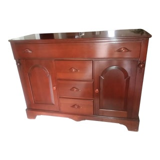 Mahogany Victorian Style Sideboard For Sale