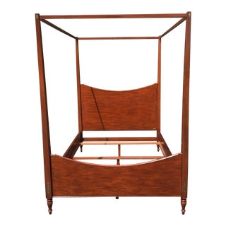 Ralph Lauren Queen Size Poster Bed With Canopy For Sale