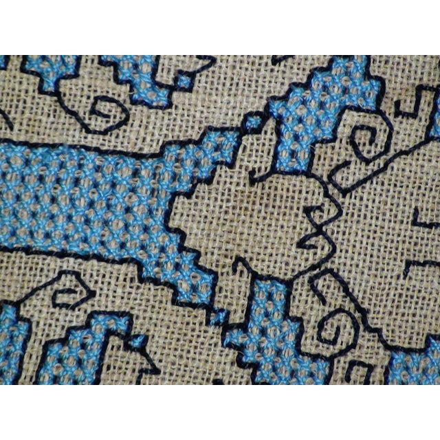 Early 20th Century Italian Needlepoint Rug- 5′10″ × 8′8″ For Sale - Image 5 of 5