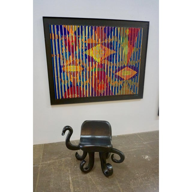 "1960s Vintage Unusual ""Octopus"" Side Chair For Sale In Palm Springs - Image 6 of 8"
