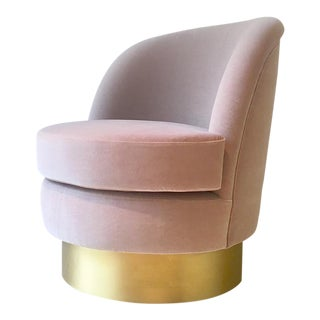 Single Swivel Chair by Talisman Bespoke For Sale