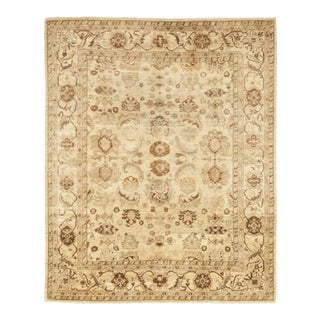 """One-of-a-Kind Traditional Oushak Hand-Knotted Area Rug 8' 3"""" x 10' 2"""" For Sale"""