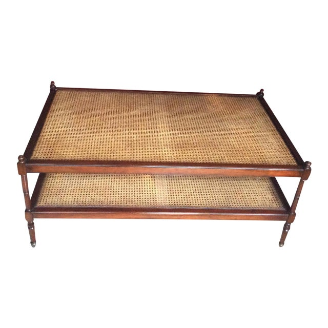 Baker Milling Road British Colonial Coffee Table