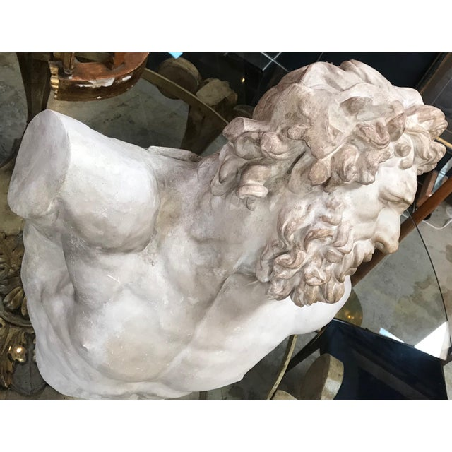 """""""Laocoon"""" Plaster Bust Sculpture For Sale In Los Angeles - Image 6 of 13"""