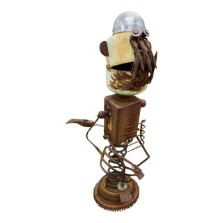 "Funky ""Found Object"" Sculpture by James ""Pelon"" Bauer For Sale"