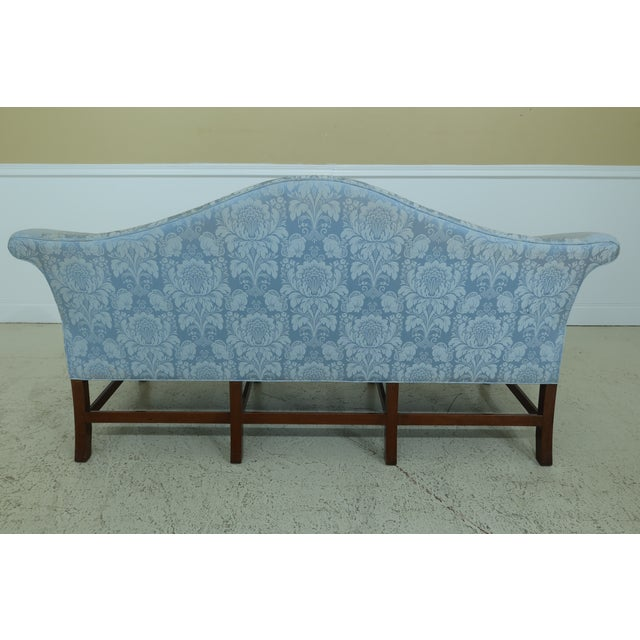 Blue Kittinger Historic Newport Collection Chippendale Sofa For Sale - Image 8 of 11