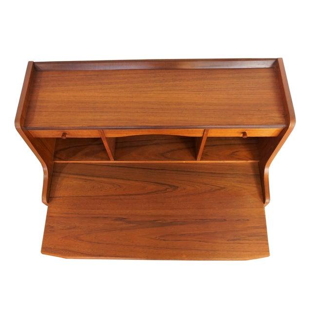 Danish Secretary Desk / Dresser - Image 6 of 8