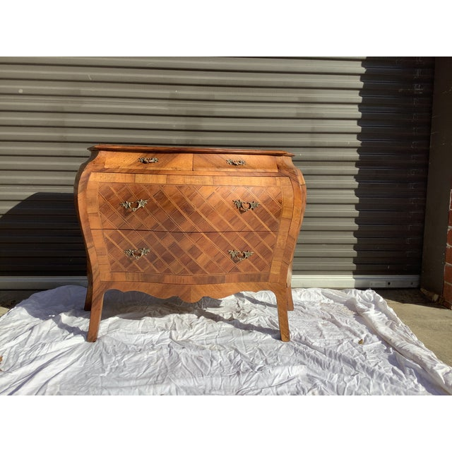 Italian Bombay Chest W/ Parquetry For Sale - Image 13 of 13