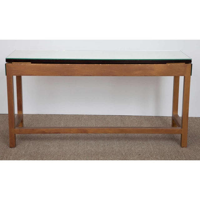 Mirrored Console Table For Sale In New York - Image 6 of 10