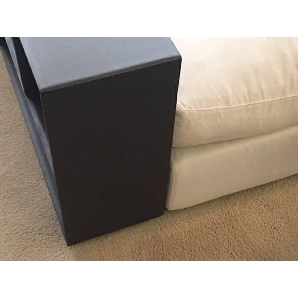 Flexform Custom Made Groundpiece Sofa For Sale - Image 5 of 11