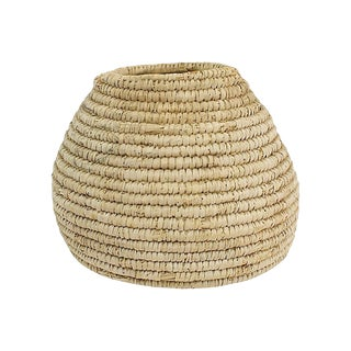 1920s Handwoven Hive-Shaped Basket For Sale