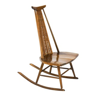 Vintage Arthur Umanoff for Washington Woodcraft Rocking Chair For Sale