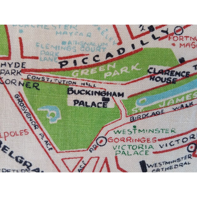 Old London Map Pillow - Image 4 of 6