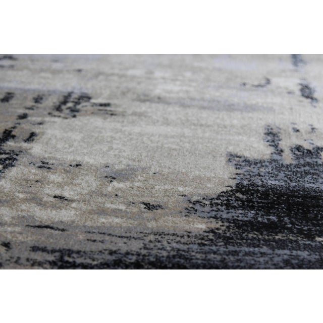 Contemporary Brown Abstract Rug - 8' X 10'7'' - Image 5 of 6