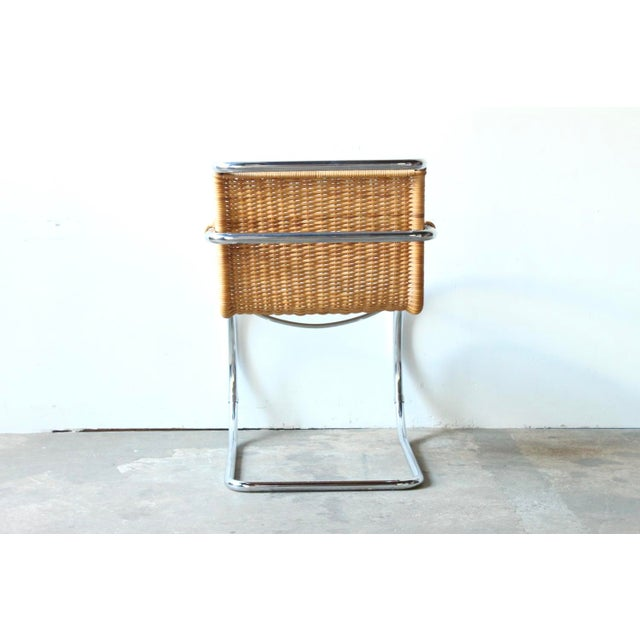 Mies Van der Rohe Mies Van Der Rohe Mr20 Chair For Sale - Image 4 of 6