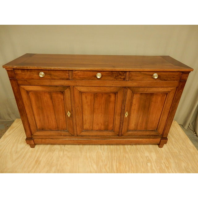 Brown Early 19th C. Directoire' Walnut Enfilade For Sale - Image 8 of 10