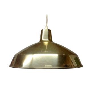 ** Danish Modern Brass Pendant Light For Sale