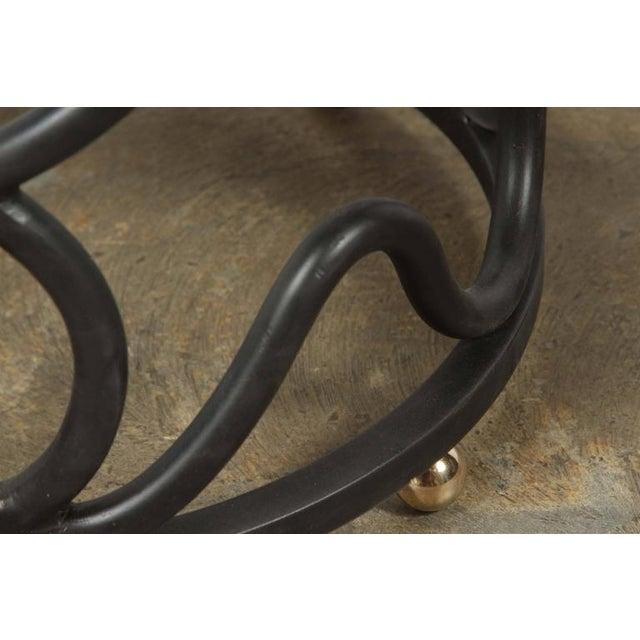 Snake Side Table by Paul Marra For Sale In Los Angeles - Image 6 of 7