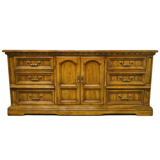 20th Century Italian Dixie Furniture Triple Door Dresser For Sale - Image 13 of 13